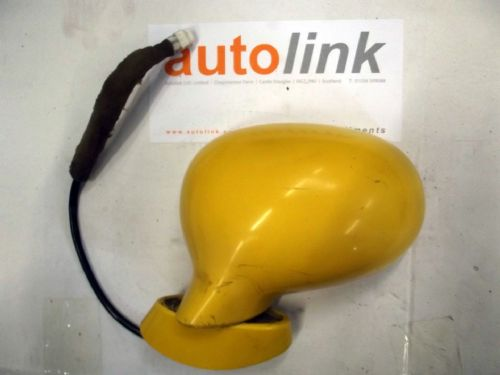 Door Mirror, Mazda MX-5 mk1, l/h, electric, HZ, yellow, left hand, NA9268180HZ, USED 01